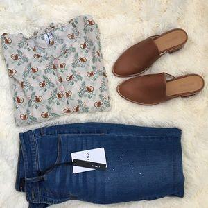 Oak and shine monkey 🐒 blouse